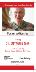 Flyer - Programm-Aktionstag-Demenz am 21.09.2019
